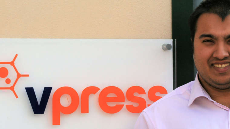 Vpress Welcomes New Apprentice